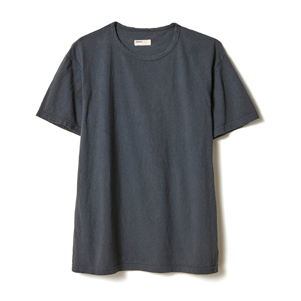 Organic Dyed T-Shirt / GRAY