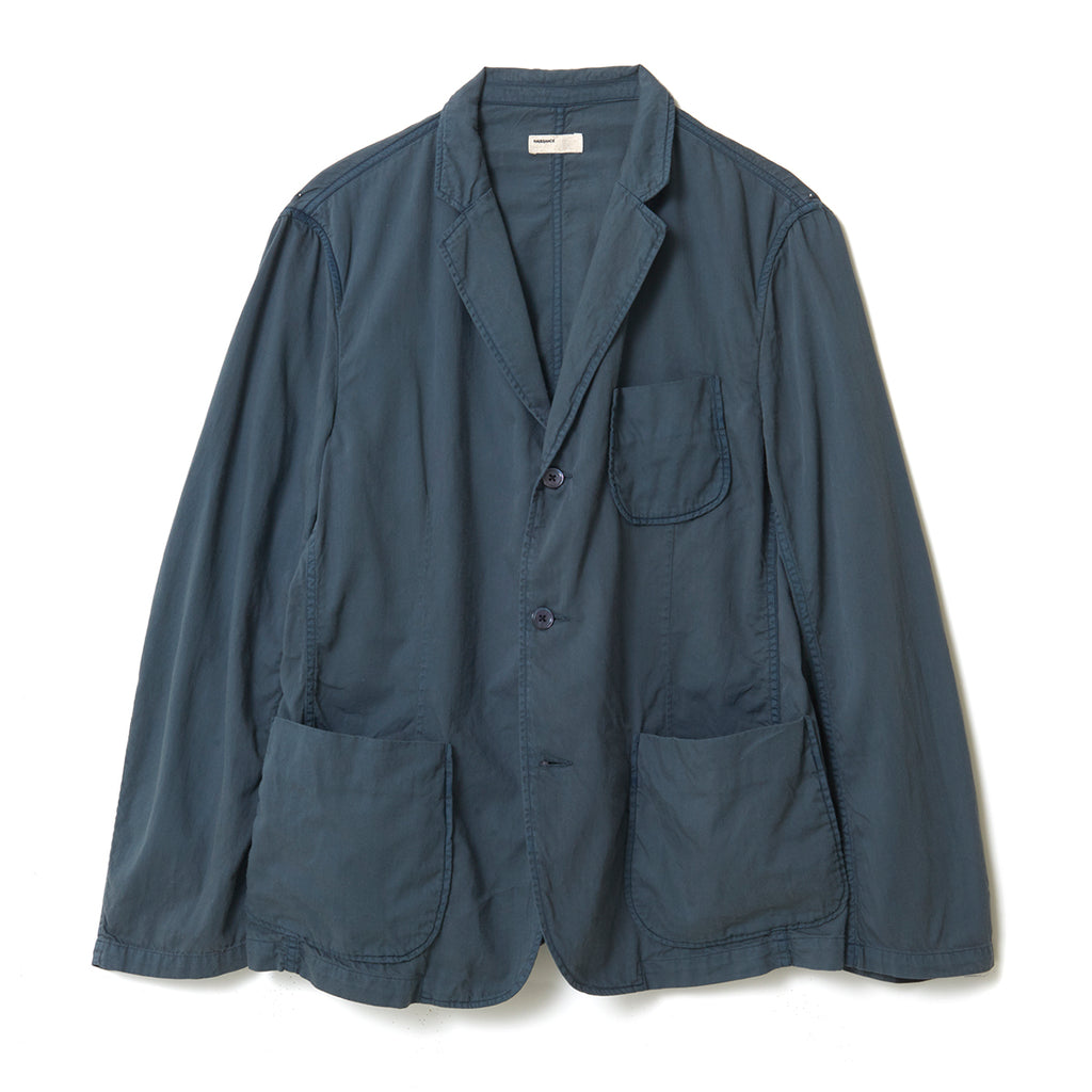 Organic Dyed Jacket / GRAY