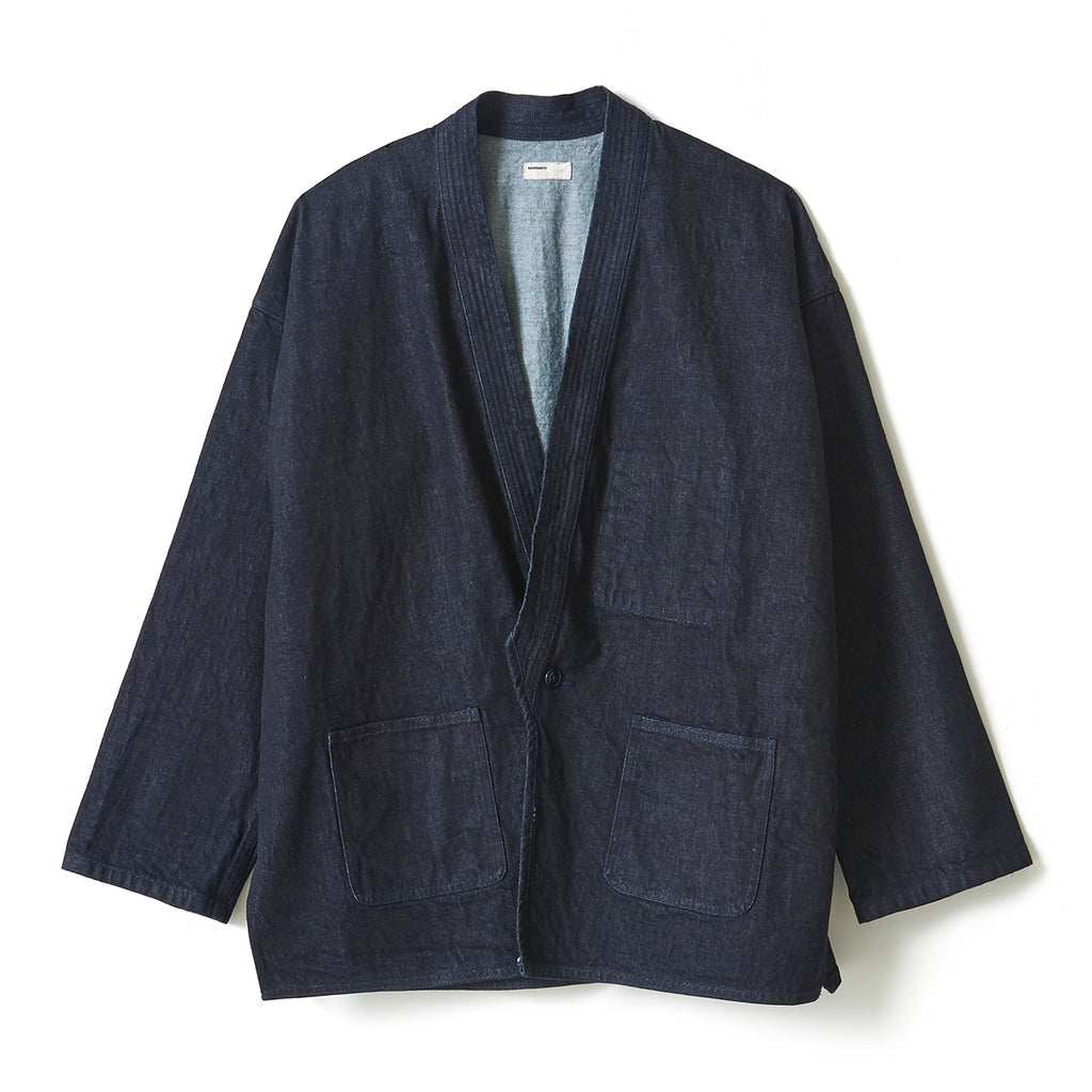Denim Judo Jacket / INDIGO