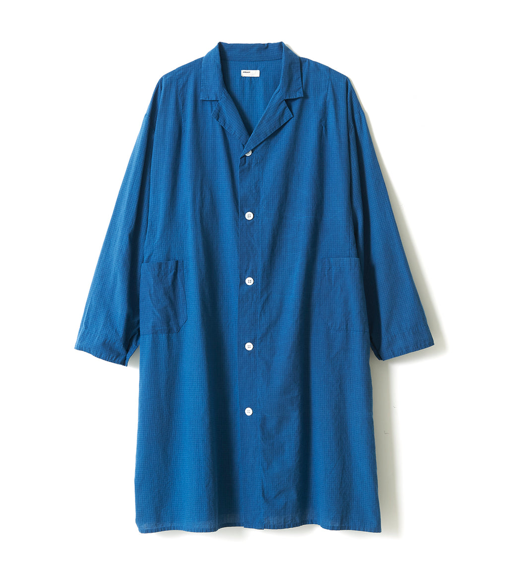 Khadi Cotton Coat / NAVY