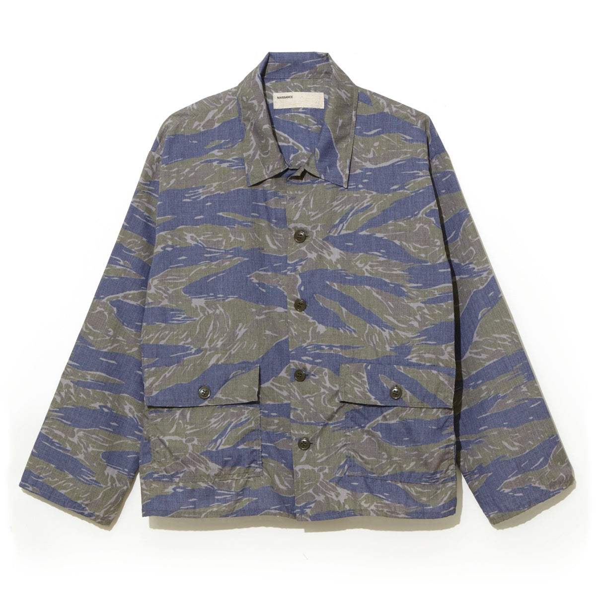 Camo Shirt Jacket  / GREEN