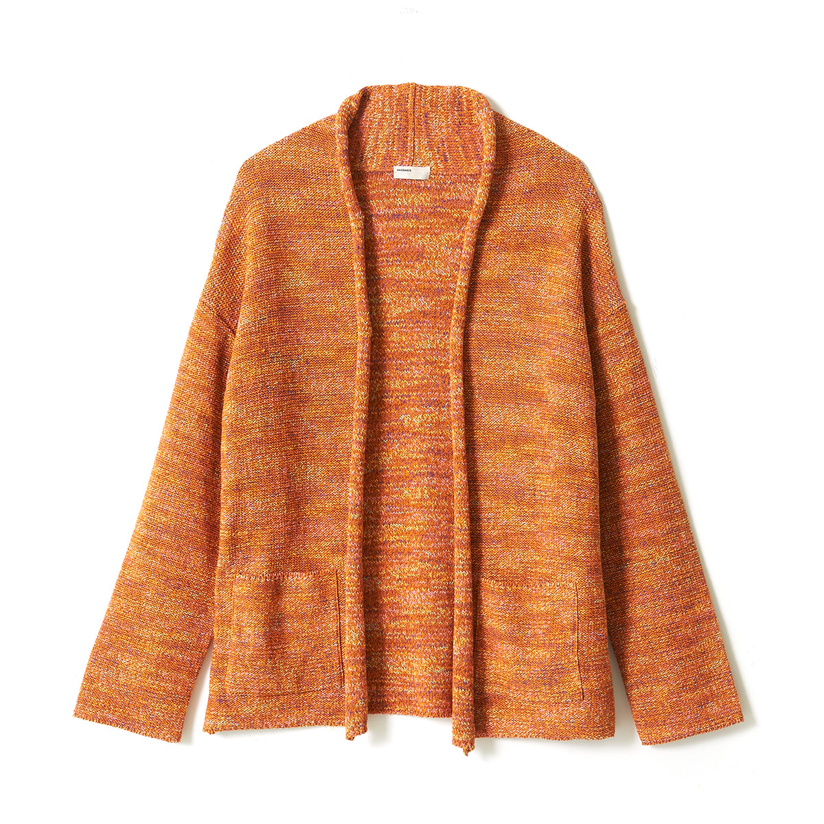Gima Cotton Cardigan / ORANGE