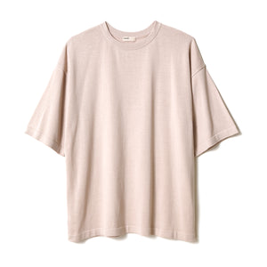 Big Knit T-Shirt / BEIGE
