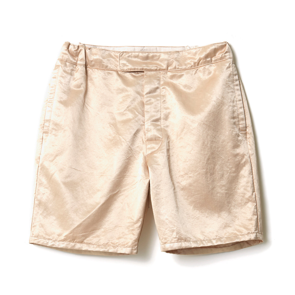 Satin Shorts / BEIGE