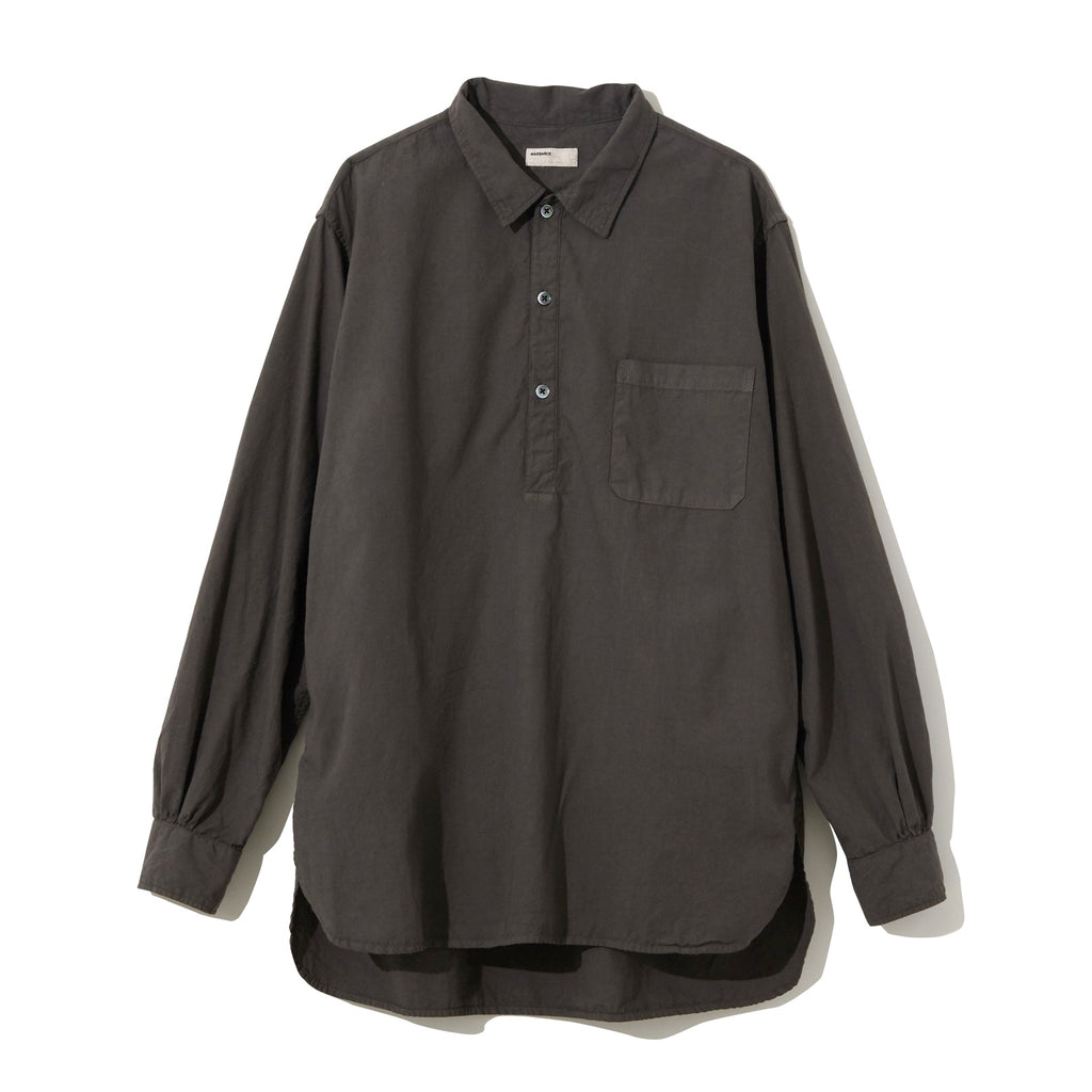 Pullover Shirt / CHARCOAL GRAY