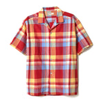 Khadi Cotton Check Shirt / RED
