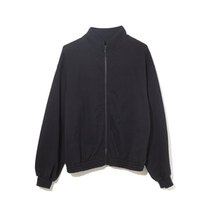 Sweat Zip Up Blouson / BLACK (20S-NSA-CS-01)