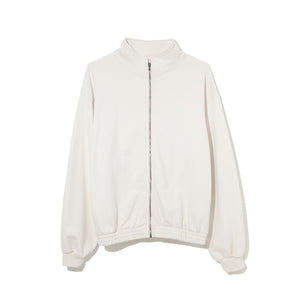 Sweat Zip Up Blouson / WHITE (20S-NSA-CS-01)