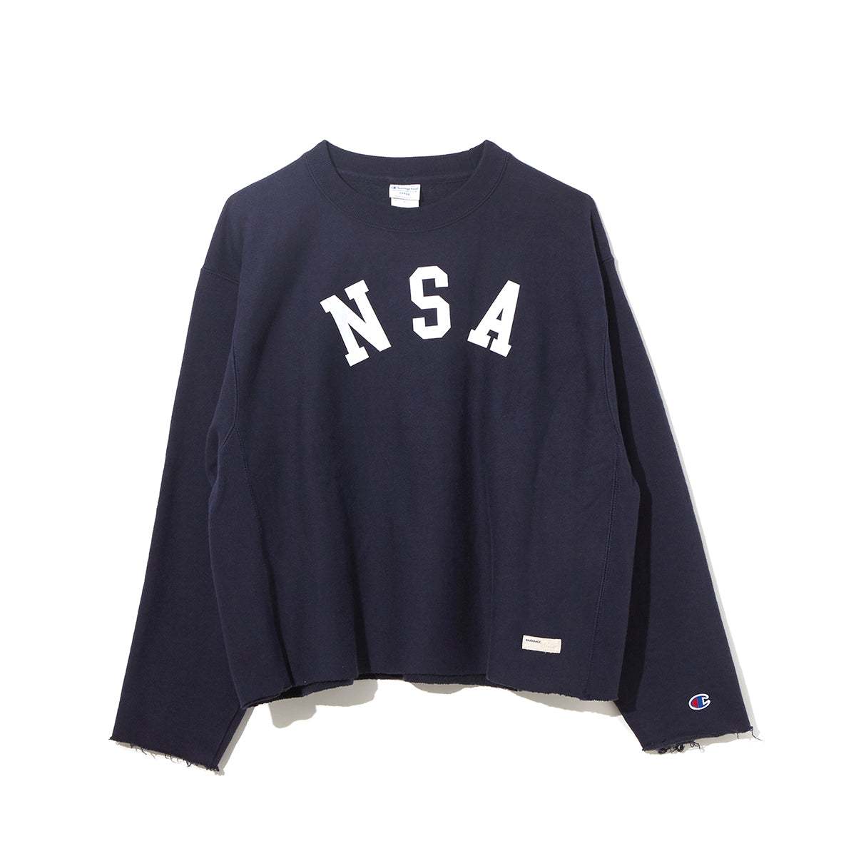 Graphic Sweat Cut-Sewn / NAVY (20S-NSA-CS-03)