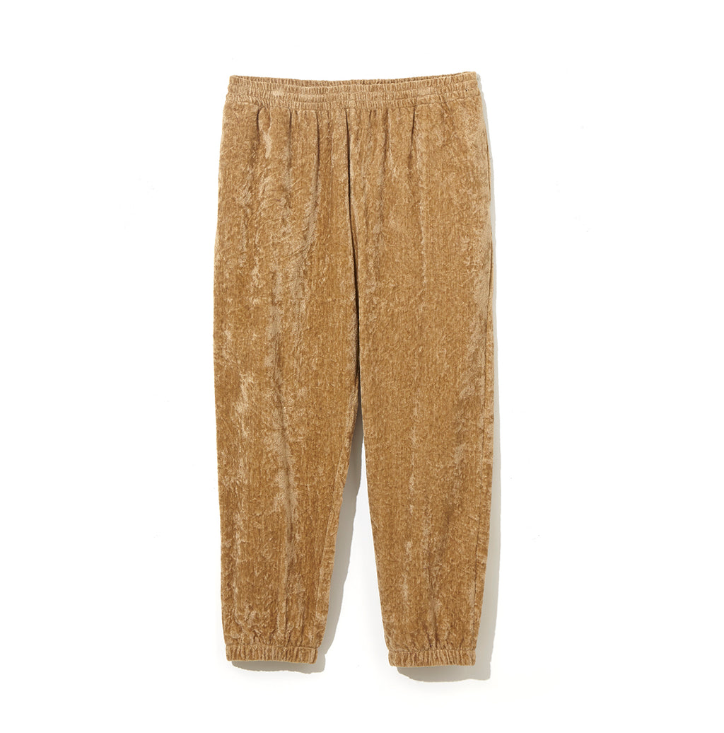 Linen Velour Pants / BEIGE (20S-NSA-CS-05)