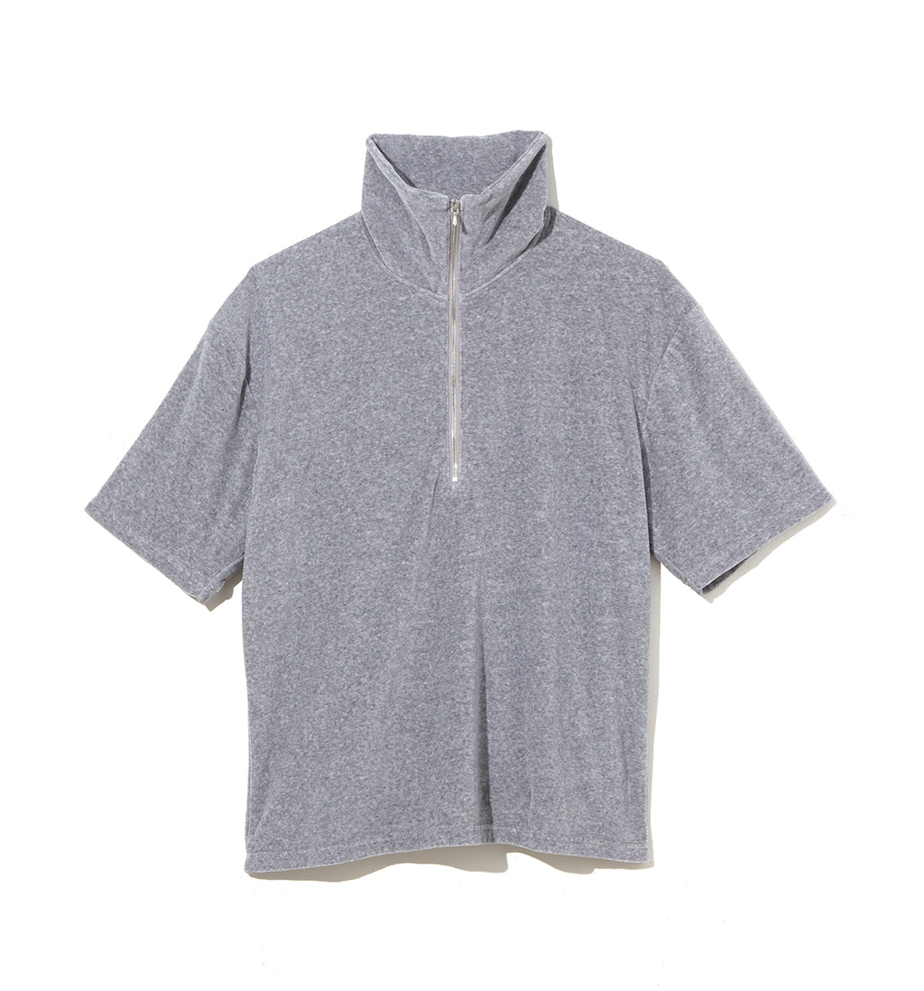 Pile Half Zip Cut-Sewn / GRAY (20S-NSA-CS-07)