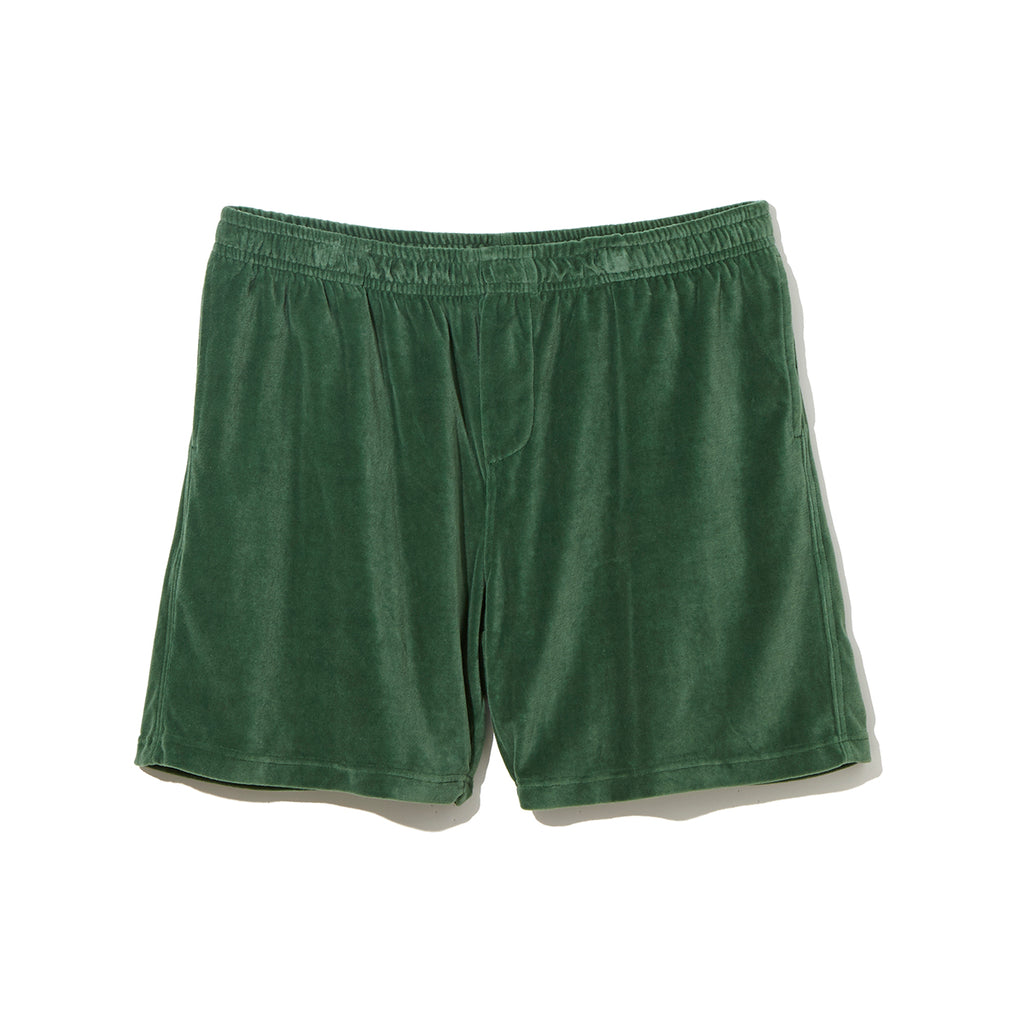 Pile Shorts / GREEN