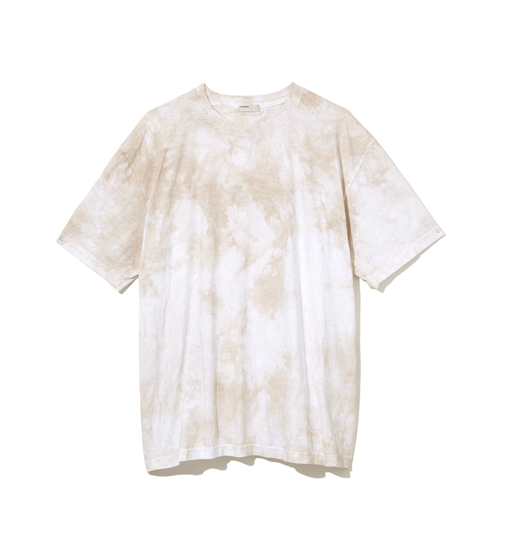 Speckled Dye T-Shirt / BEIGE (20S-NSA-CS-10)