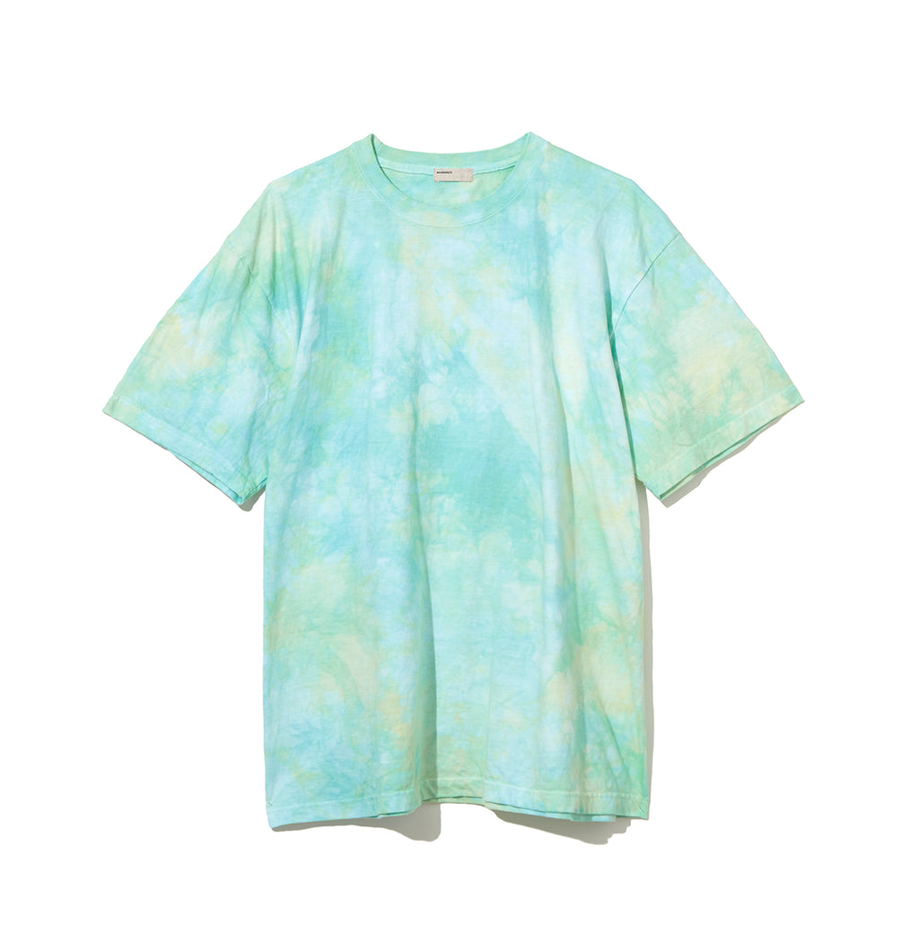 Speckled Dye T-Shirt / GREEN