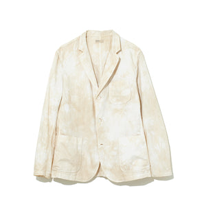 Speckled Dye Jacket / BEIGE