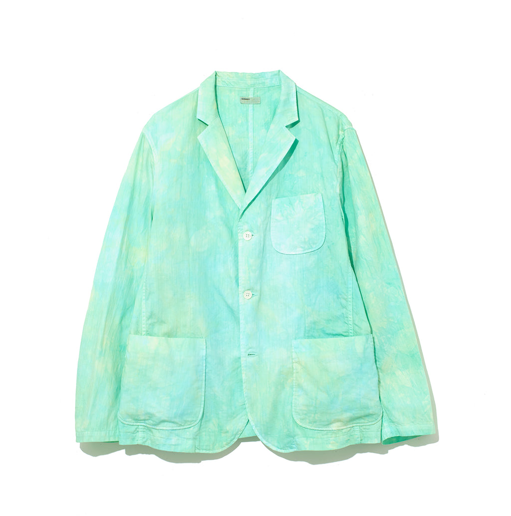 Speckled Dye Jacket / GREEN (20S-NSA-JK-01)