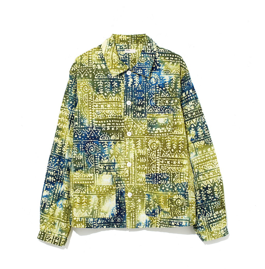 Pattern Shirt Jacket / GREEN (20S-NSA-JK-02)