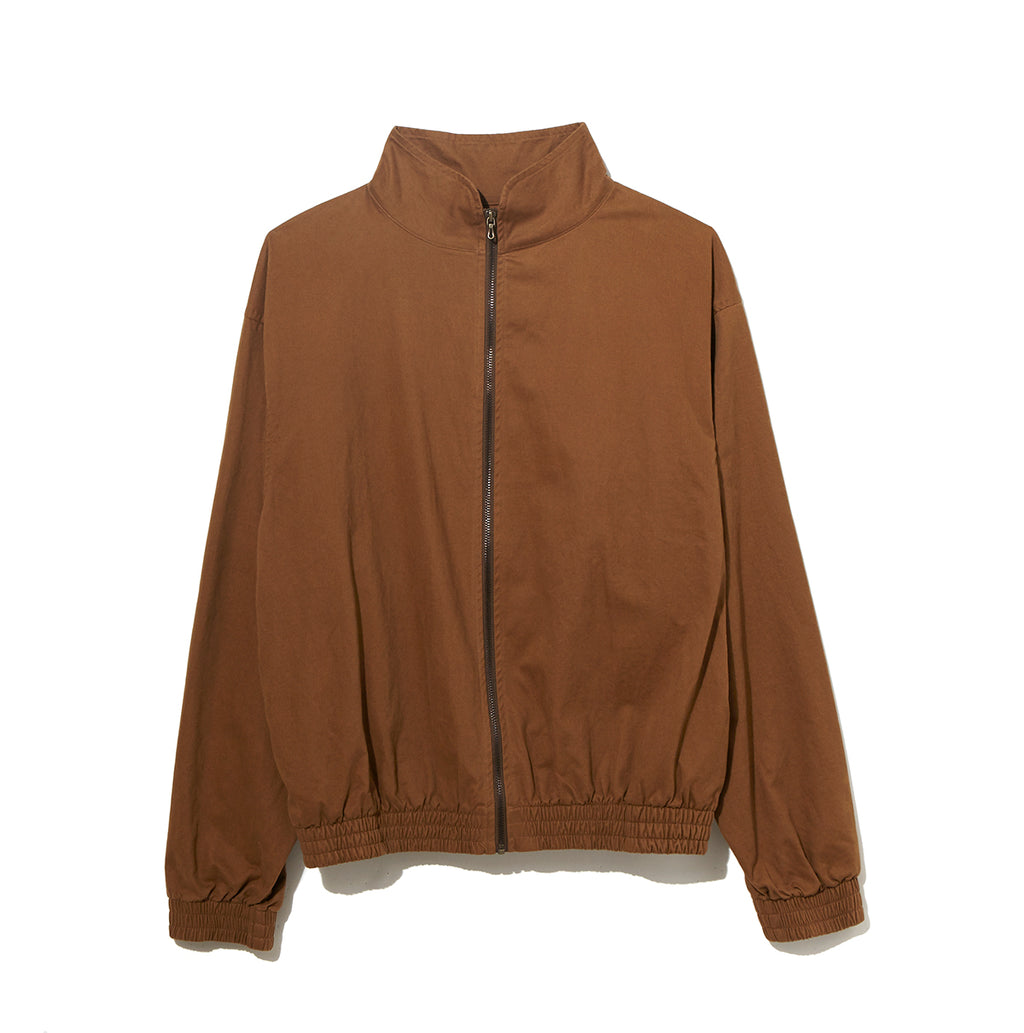 Organic Cotton Zip Up Blouson /  BROWN (20S-NSA-JK-05)