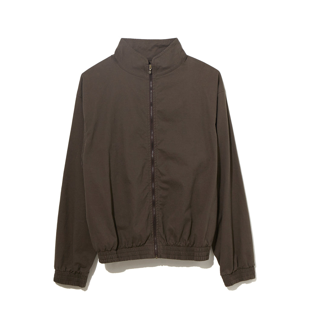 Organic Cotton Zip Up Blouson /  KHAKI