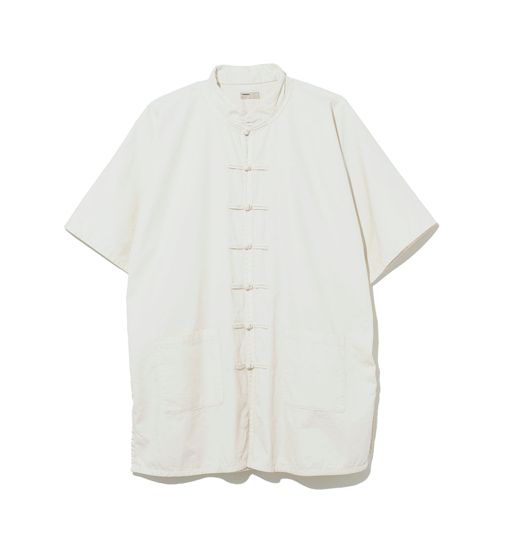 China Shirt Jacket / WHITE (20S-NSA-JK-06)