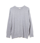 Cotton Cashmere Knit / GRAY (20S-NSA-KN-01)