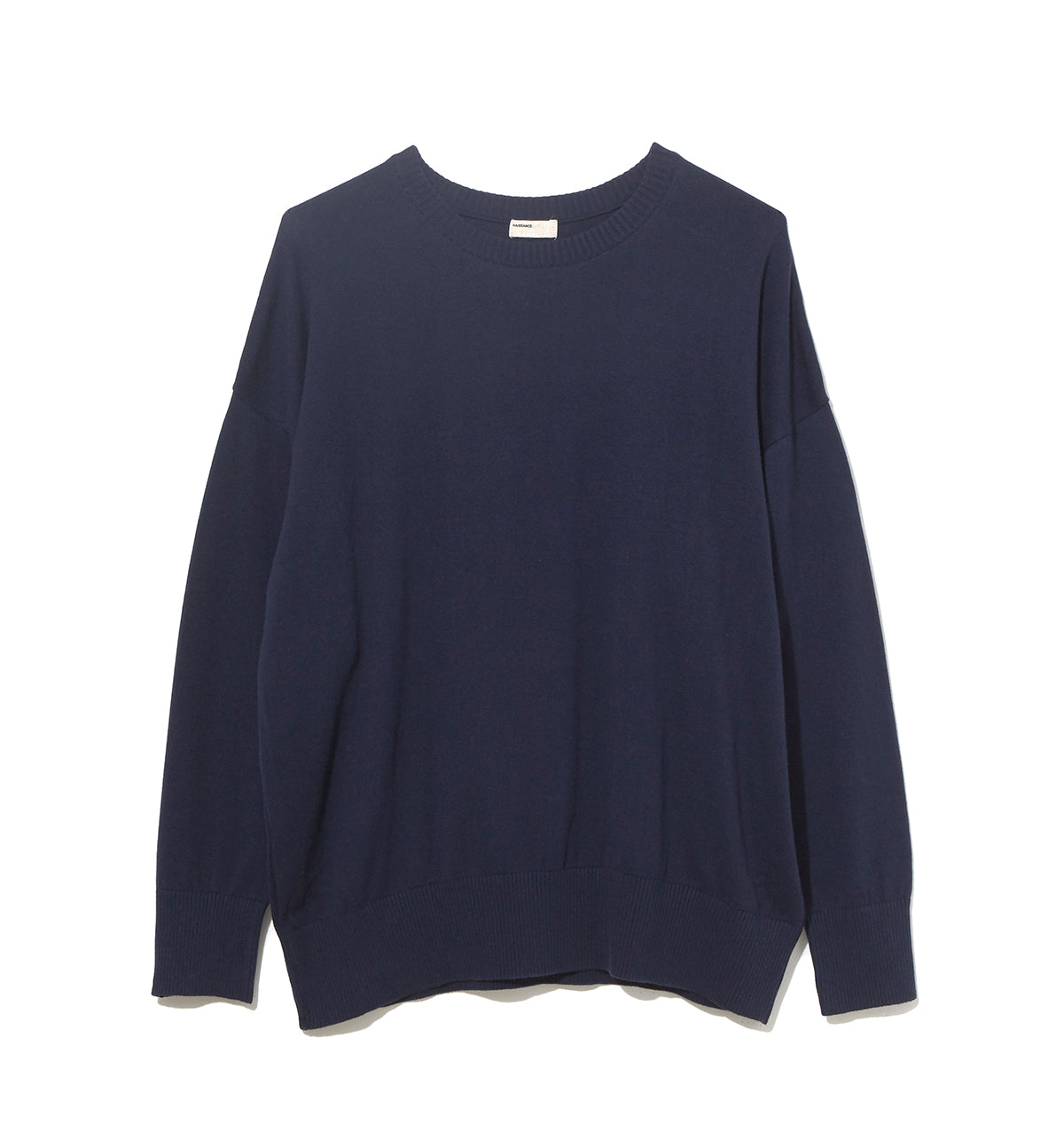 Cotton Cashmere Knit / NAVY