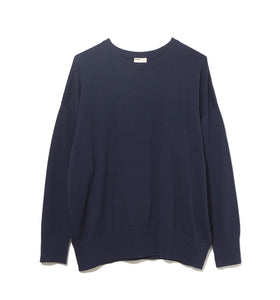 Cotton Cashmere Knit / NAVY (20S-NSA-KN-01)