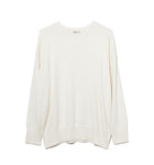 Cotton Cashmere Knit / WHITE (20S-NSA-KN-01)