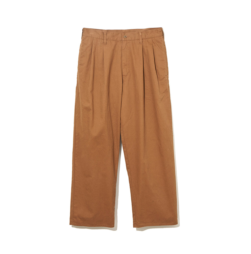 Organic Cotton Pants / BROWN (20S-NSA-PT-04)