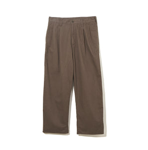 Organic Cotton Pants / KHAKI