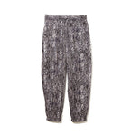 Python Pattern Pants / BLACK (20S-NSA-PT-06)