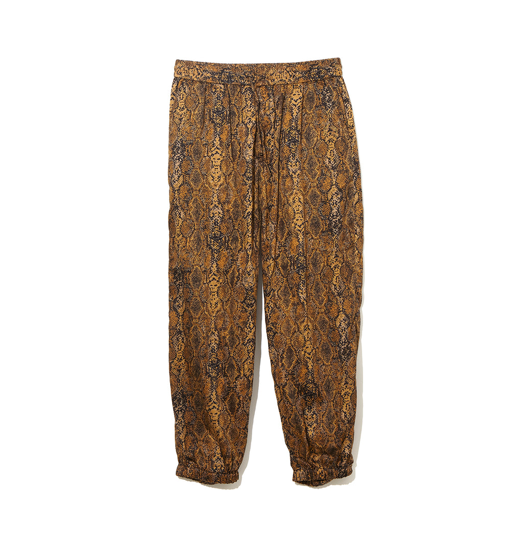 Python Pattern Pants / YELLOW (20S-NSA-PT-06)