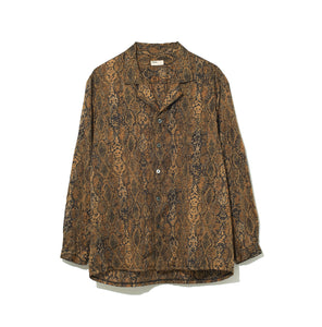 Python pattern Shirt / YELLOW (20S-NSA-SH-02)