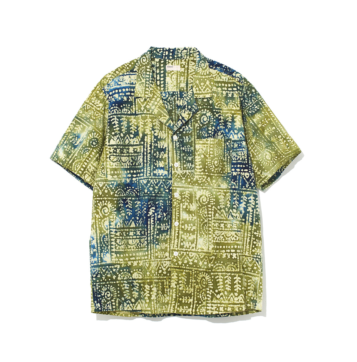 Pattern Shirt / GREEN (20S-NSA-SH-03)