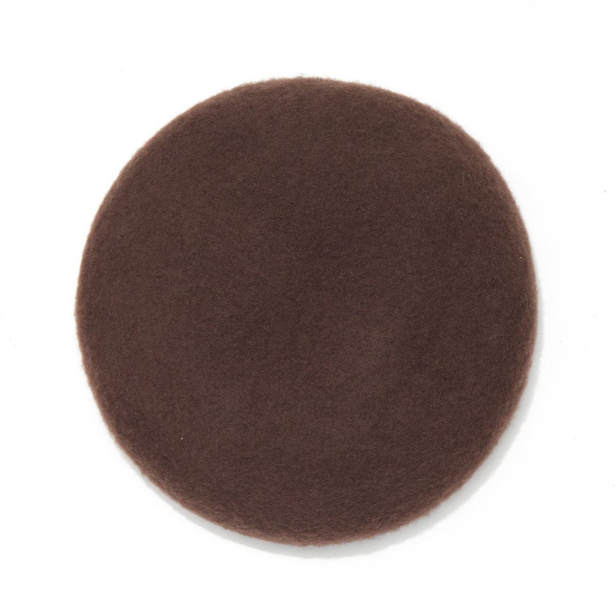 NAPPING WOOL BERET / BROWN (21A-NSA-AC-01)
