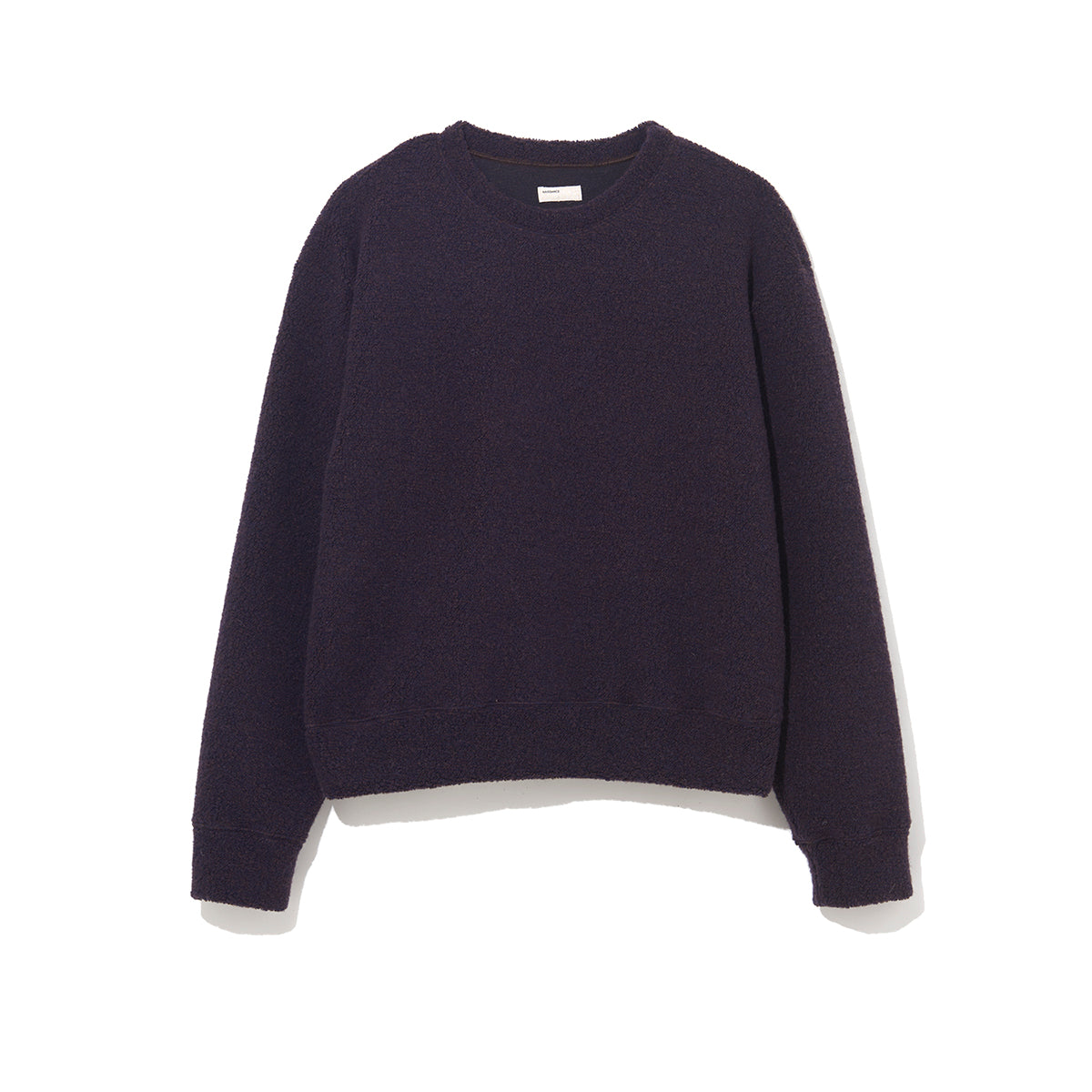 WOOL PILE PULLOVER / BLACK (21A-NSA-CS-01)