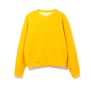 WOOL PILE PULLOVER / YELLOW (21A-NSA-CS-01)