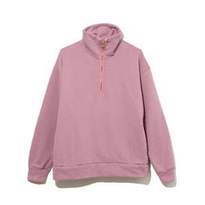 HALF ZIP TURTLE NECK / PINK (21A-NSA-CS-03)