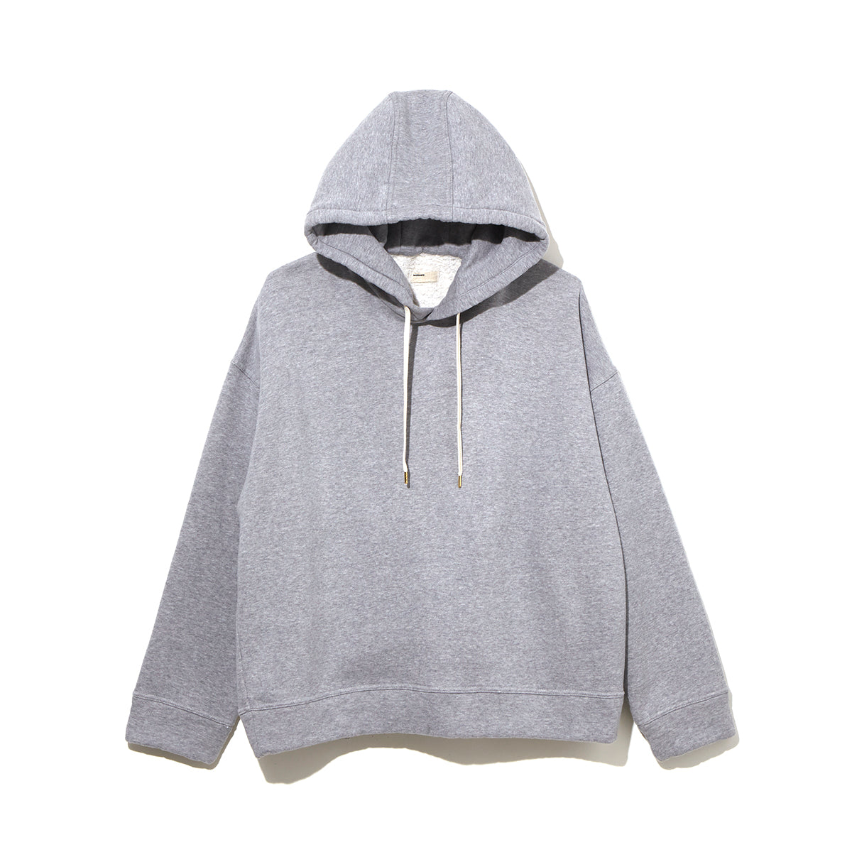 SHEEP FLEECE PULLOVER HOODIE / GRAY (21A-NSA-CS-05)