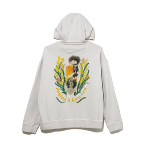 ILLUSTRATION HOODIE A by Jody Asano / GRAY (21A-NSA-CS-07)