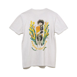 ILLUSTRATION T-SHIRT A by Judy Asano / GRAY (21A-NSA-CS-10)