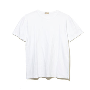 SLUB T-SHIRT / WHITE (21A-NSA-CS-13)