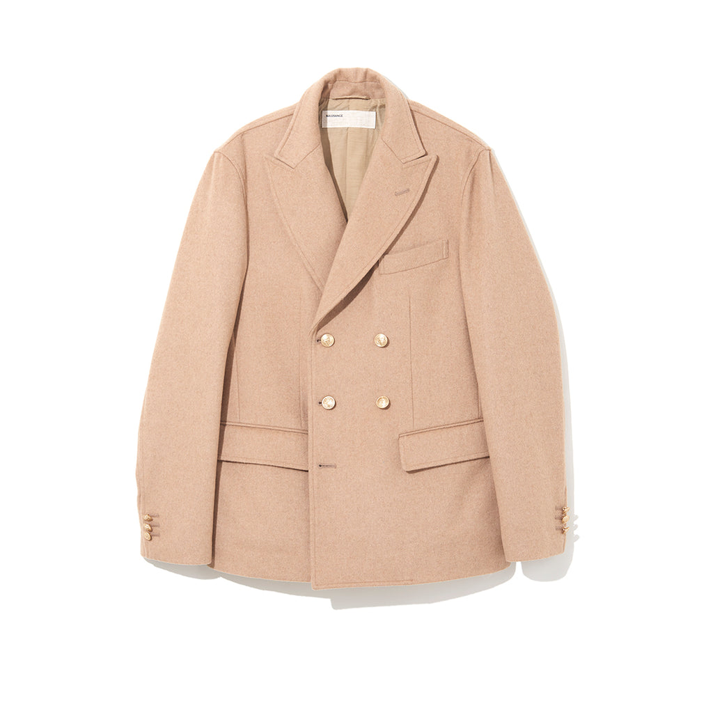 DOUBLE JACKET / BEIGE (21A-NSA-JK-01)