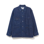 WORK JACKET / INDIGO (21A-NSA-JK-02)