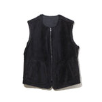 REVERSIBLE VEST / BLACK (21A-NSA-JK-03)