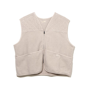 FLEECE VEST / GRAY (21A-NSA-JK-10)