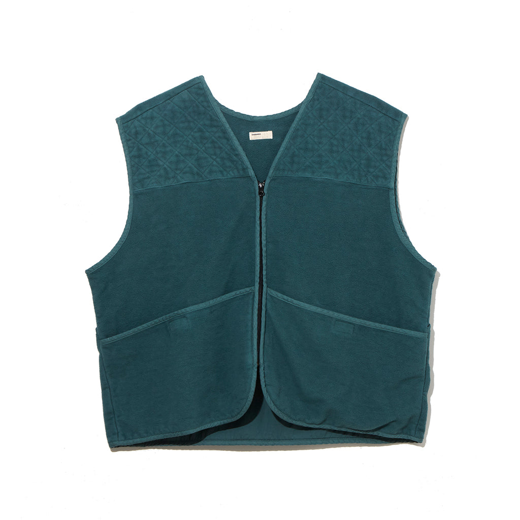 FLEECE VEST / GREEN (21A-NSA-JK-10)