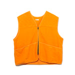 FLEECE VEST / ORANGE (21A-NSA-JK-10)