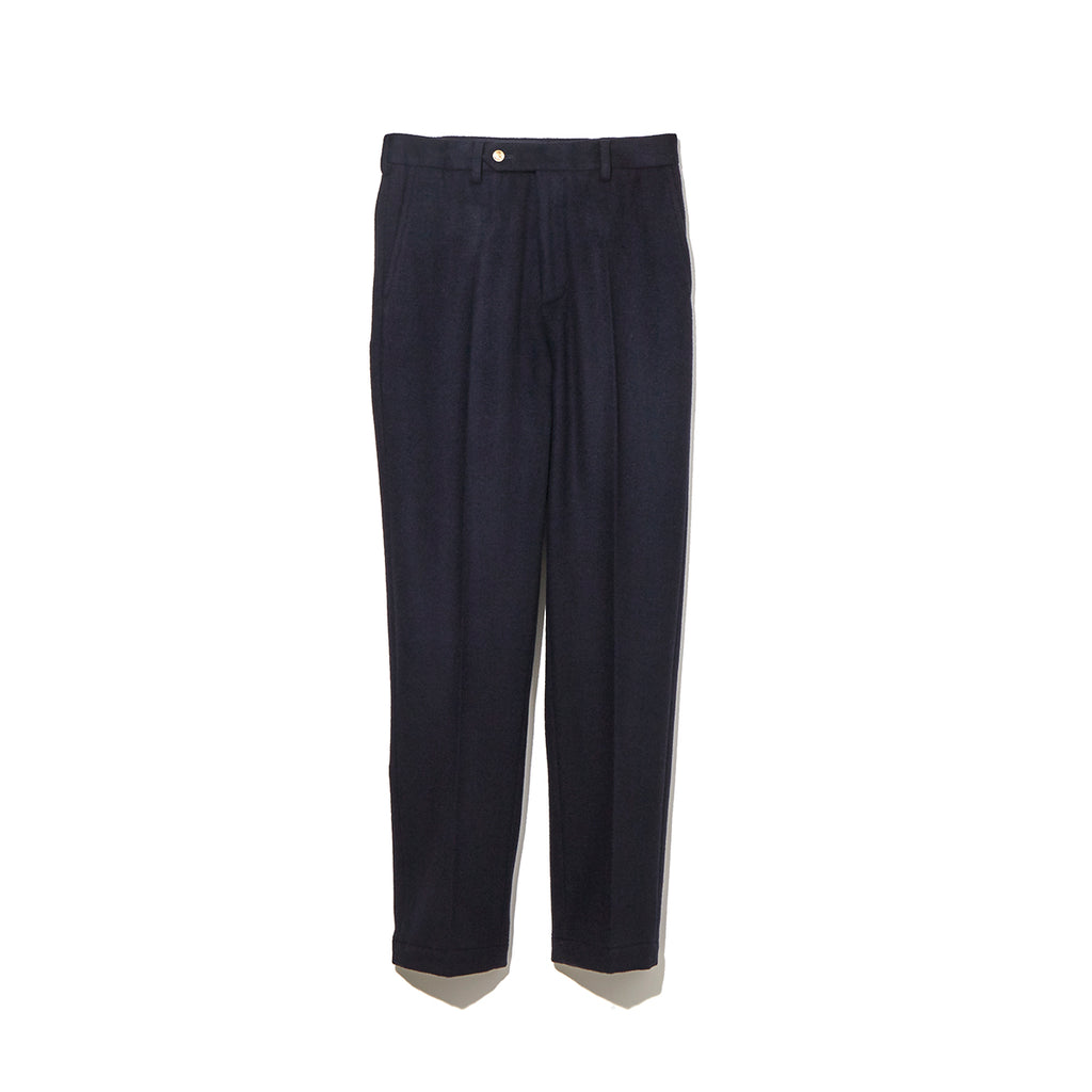 SLIM SLACKS / NAVY (21A-NSA-PT-01)
