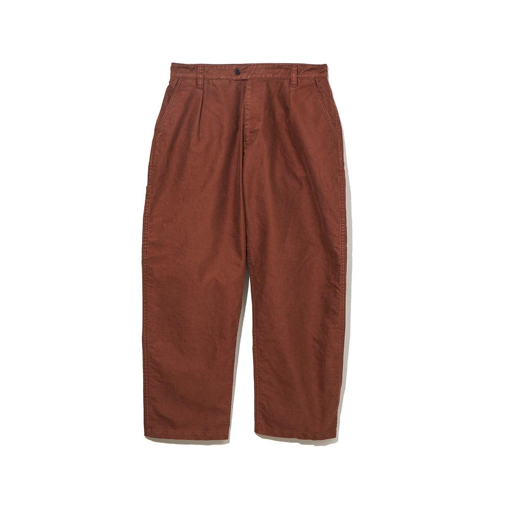 MOLESKIN PANTS / BROWN (21A-NSA-PT-05)